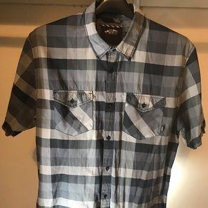VANS men's button up shirt.
